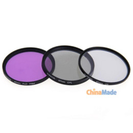 67mm CPL FLD UV Circular Lens Optical Glass Filter Kit with CPL Filter, FLD Filter, UV Filter +Microfiber Cleaning Cloth