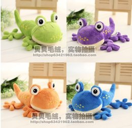 Wholesale Big eyes Frog Prince cm Stuffed Plush Toy frog Cute Muppet Show Kermit Frog Plush Toys stuffed doll toys