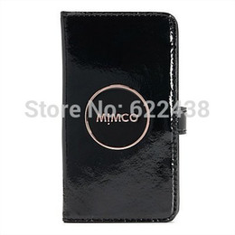 Wholesale MIMCO LEATHER FLIP CASE FOR IPHONE