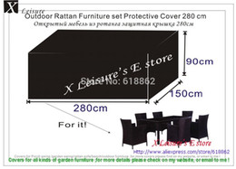 Wholesale Outdoor Rattan Furniture set Protective Cover cm waterproofed dust proofed cover Chair cover