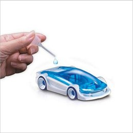 Wholesale Salt Water Power Car DIY Assembly Toy Green Energy Mini Toy Car with Retail Package Creative Toy for Kids