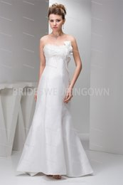 Church Mermaid  Trumpet Brush  Sweep Train Sweetheart Wedding Dress