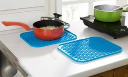 Wholesale Heatproof Mat Pads Silicone Multifunction Home Kitchen Room Dining Room Bowl Dish Pots Mats Table Accessories pc per