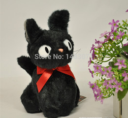 Wholesale Kiki s quot CM Delivery Service Cute Black Cat Plush Toys Soft Stuffed Animal Dolls Baby Toys