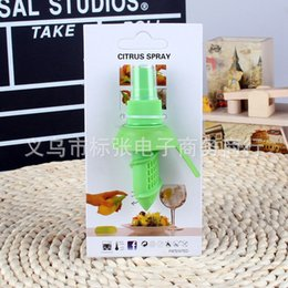 Wholesale Citrus Lemon Spray Orange Fruit Juice Atomizer Creative Household Gifts Kitchen Tools Hand Sprayer