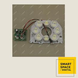 nightvision IR illuminator 8 array white light board module for dome IP camera network camera