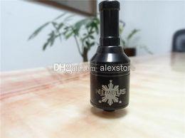 Wholesale Black Nimbus clone mod dry herb vaporizer pen phoenix v5 stainless steel rba tank rebuildable atomizer rda asics fit sentinel m16 mod DHL