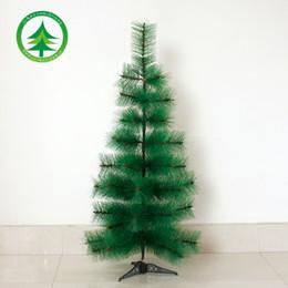 Wholesale Hei Bao pet pine needle tree CM iron foot artificial plants diy home artificial Christmas tree decoration props bare
