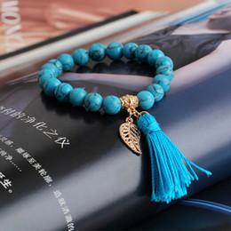 fashion Charm Bracelets design tophus beads with alloy pendant thread pendant round tassels bracelet for men & women