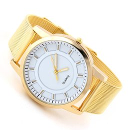 Analog Gold for Men's Full Steel Watches Round Dial Wristwatch 2014 New Quartz Fashion Casual watches Promotions
