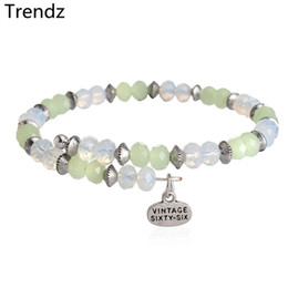 Wholesale Alex Ani Authentic White and Light Green Shimmering Crystal Bead Bracelet Antique Gold Expandable Stainless Steel Wire Bangle NWT AA201534