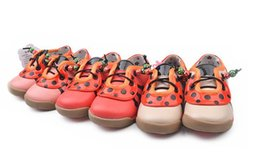 Wholesale Spotted Baby Shoes - 2015 children shoes kids boots leather princess shoes spot baby shoes kids sneakers