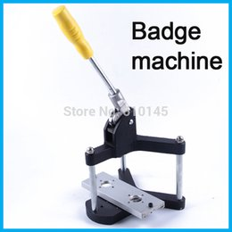 Wholesale New metal Badge Making Machine Button Maker machine stamp making machine