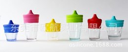 Wholesale SipSnap sippy silicone sippy cup lid baby sippy cups no leaks for baby freeship via DHL