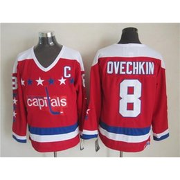 Wholesale Capitals ovechkin blue Throwback Hockey Jerseys Cheap Hockey Uniform Hockey Jerseys Design Best Selling Hockey Uniform for Sale In stock