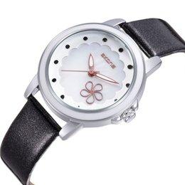 New Arrival SKONE Women Genuine Leather Strap Watches Women Dress Wristwatches Japan Quartz Watch for Women Birthday Gift