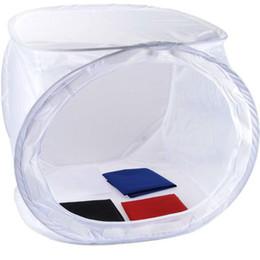 DHL libre 50 * 50 * 50cm Pliable Photo Studio Light Box souple Tente tournage Cube Softbox pour appareil photo à partir de photo boîte de tente fabricateur