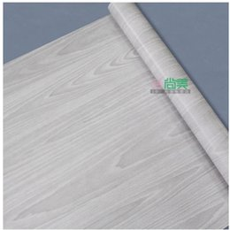 Wholesale Wood grain paper wall paper sticky wallpaper Waterproof wallpaper furniture stickers chest door furniture paster stickers