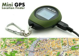 Wholesale Best Outdoor Mini GPS Trackers Navigation Systems Compact Size Only g Real Time Speed Latitude Longitude Last for Hours for Hiking