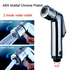 Wholesale Double Mode Sprayer ABS hand held toilet bidet shattaf spray factory sale toilet shower