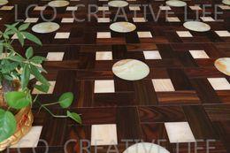 Wholesale Acid branch wood mm and jade mm mmWood flooring Parquet flooring Medallion wooden floor living room Art flowers
