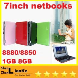 Wholesale NEW inch mini laptop android via8880 netbooks GB GB with wifi freeshipping