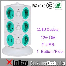 Wholesale High Quality A V Stereo Safety Floor EU Outlets with USB Socket OG2U003 with M Power Line EU Plug Stardard