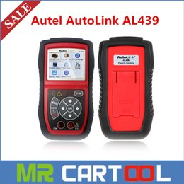 Wholesale 2015 Sale Original Autel AutoLink AL439 Next Generation OBD II Electrical Test Tool AL update online DHL