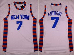 Wholesale Running Jerseys Knicks fans white lace fabric new version Jersey embroidered stitched jerseys high quality sports clothing clothes