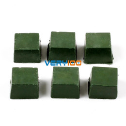 Wholesale 2pcs Leather Strop Sharpening Polishing Compounds g per one Green New order lt no track