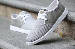 2018 stylish new round of men's fashion fabric breathable hollow men shoes ultra light Sneakers size 39-44
