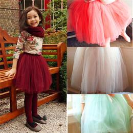 Baby Kids Girls Baby Girl Tutu Flower Girl Dress Dancewear Cute Chiffon Tutu Full Pettiskirt Princess Skirt