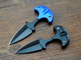 Wholesale 2015 Cold steel style URBAN PAL LS small Fixed blade knife Fox karambit pocket knife camping Utility outdoor gear knife B283L