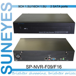 Wholesale SunEyes SP NVR F09 F16 Professional Project Quality U NVR ONVIF with SATA HDD Port