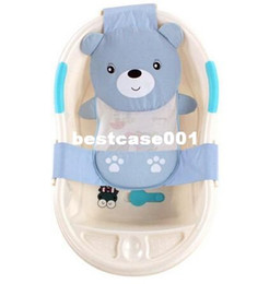Wholesale 20pcs Adjustable baby bathtub cartoon pattern Newborn Safety Security Bath Seat Support Baby Shower Baby Bath shower product