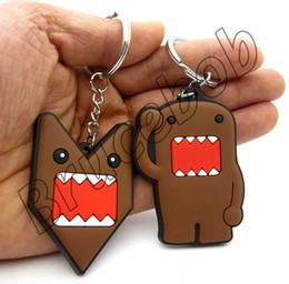 soft PVC rubber Cute cartoon Hand palm domomode domo kun domokun car jdm style pendant key chain keychain keyring