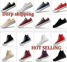 Wholesale 2015 new shoes Unisex canvas shoes Low Top High Sport Shoes High quality canvas shoes