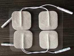 Wholesale 100pcs Health Care Non woven Self Adhesive Tens Machine Electrode Pads therapy massage pad