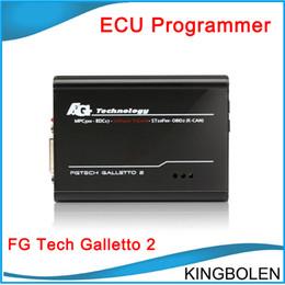 Wholesale 2015 Super Auto ECU chip tunning tool FGTech Galletto Master EOBD2 V52 Multi language fg tech Galletto2 master