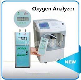 Gros-Large écran LCD portable en oxygène Analyseur d'oxygène de test Concentrateur Pureté, Pureté Oxygen Analyzer, analyseur de concentration en oxygène test concentration for sale à partir de concentration d'essai fournisseurs