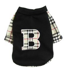 Wholesale Cute Letter B Pet Dogs Summer T Shirt Dogs Clothing dogs shirt Pet coat dogs coat pet cloth dog cloth dog product