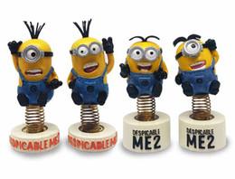 Wholesale Hot Sale Decoration For Car Despicable Me Character Kids Stuffed Toys Minions Resin Children CuteToys Size CM T1309
