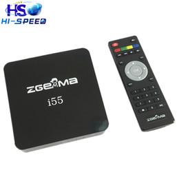 Wholesale 10pcs Latest Powerful Zgemma i55 IPTV Box HDTV Linux Enigma TV Box without account