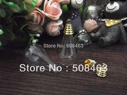 Wholesale Free ship NEW sets x18mm vase glass cover bronze gold silver cap finding set glass cover DIY Glass vial jewelry
