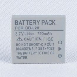Battery Pack pour Sanyo DB-L20, DB-L20AU et Xacti VPC-C40, VPC-C5, VPC-C6, VPC-CA6, VPC-CA65, VPC-CA8, VPC-CA9 Caméscope numérique à partir de sanyo caméscope numérique fabricateur