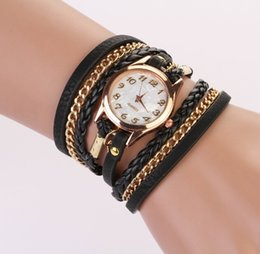 luxury fashion watches watch wristwatch for Women Lady Wrap Wrist leather Watches Round Dial Charming infinity Bracelets Watches