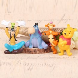 Wholesale winnie the pooh bear EEYORE Tigger Goofy Toys Stuffed Animals action figures Dolls Baby Bear gift cake decoration new collection doll