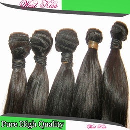 Raw 8A Peruvian Fashion Girls straight hair best hair 3 bundles=300g no issues,only the right deal
