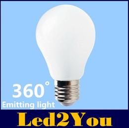 Wholesale E27 Led Bulbs W W W W Led Lights Degree Led Globe Lamps SMD High Lumens Led Spotlights AC V