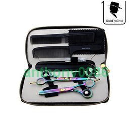 SMITH CHU professional salon barber 5.5 inch hair cutting scissors set thinning shears